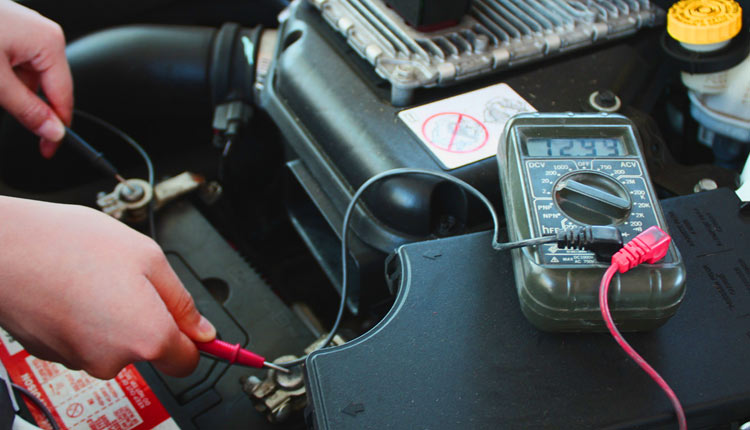 تست باتری خودرو